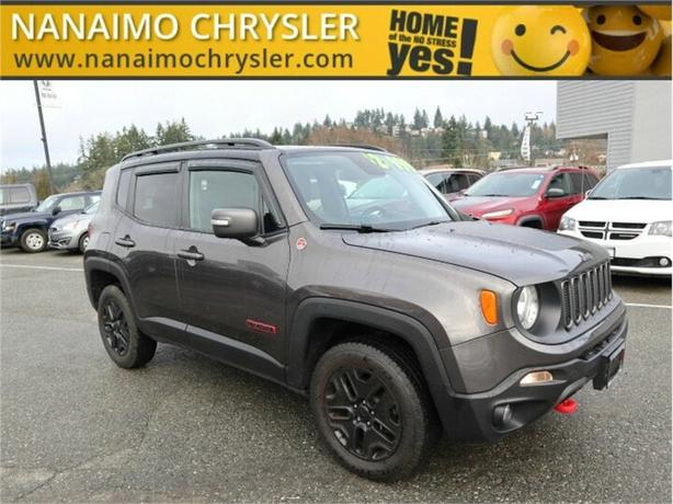 2018 Jeep Renegade Trailhawk One Owner No Accidents