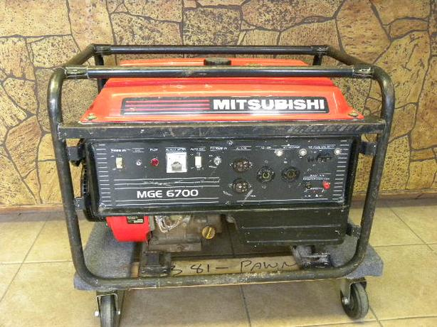 Mitsubishi 6700 Watt generator