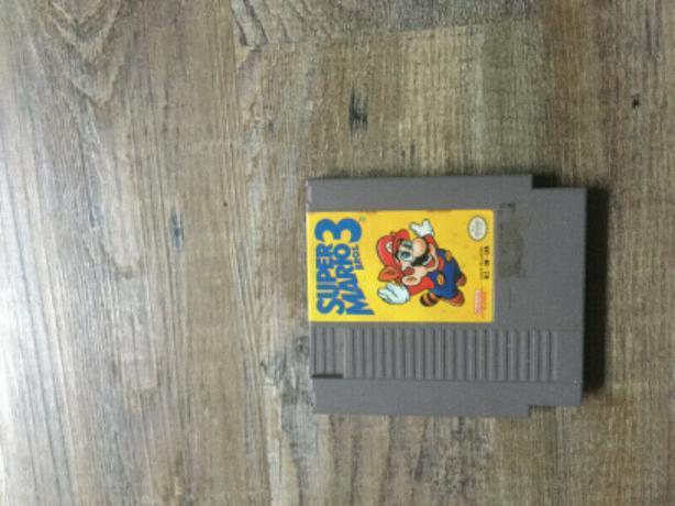 Supper Mario Bros 3 Nes Game