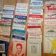 80+ 1950's SINGLE POP TUNES SHEET MUSIC