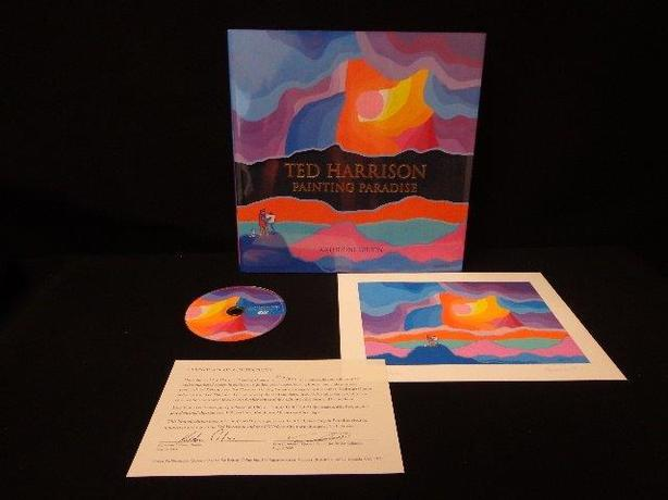 Ted Harrison Pardise Paintings signed books(Hard copy) - $75
