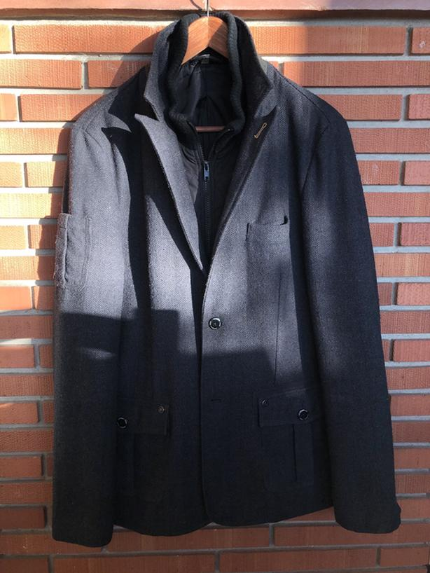 Charcoal Collar Jacket