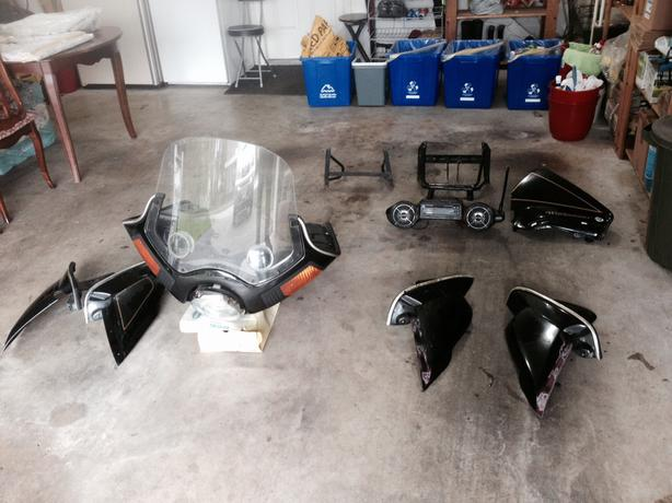 Vetter Fairing with Cycle Sound Stereo