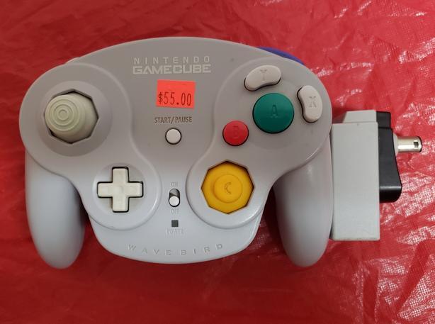 GameCube Wavebird Controller with Reciever