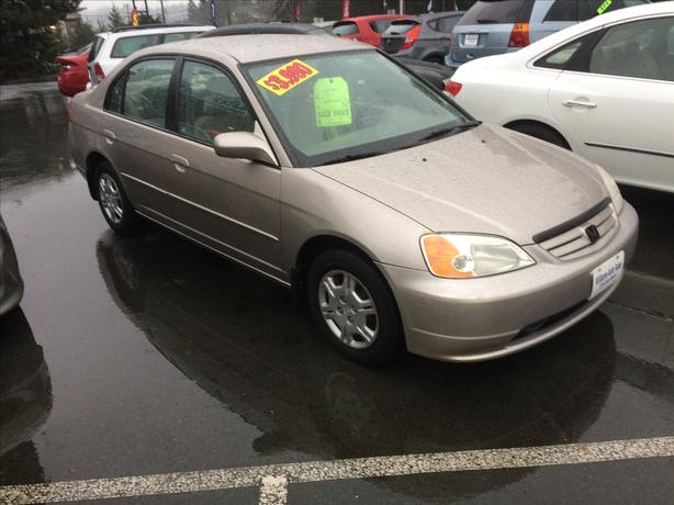 2001 Honda Civic 4 Dr LX Automatic William Auto Sales Colwood
