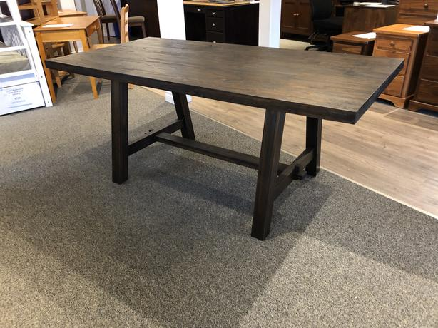 Rustic Wood Dining Table - 50% Off