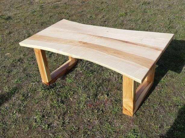 Maple Coffee Table Live Edge