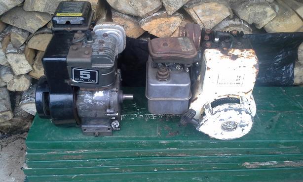 5 HP Briggs and Stratton motors