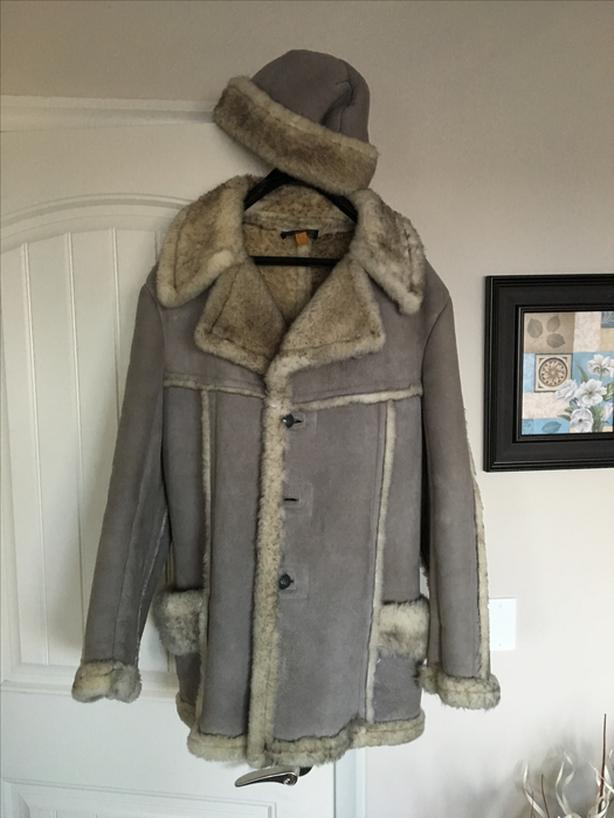Men's Sheep Skin Leather Coat