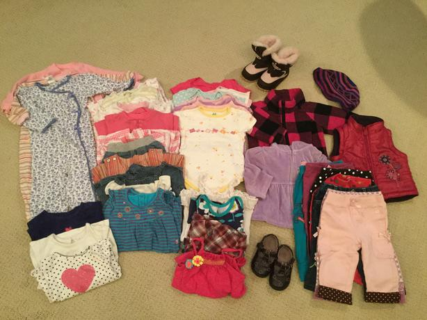 Baby Girl's Clothing Lot