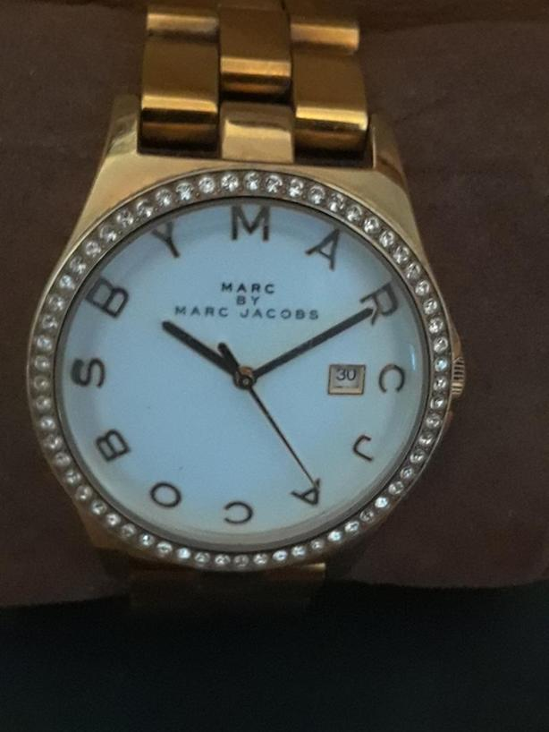Ladies Marc Jacobs Rose Gold Tone watch