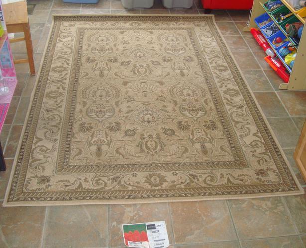 Like New Carmel Carpets Woven Carpet 8 ft x 5 ft - $200