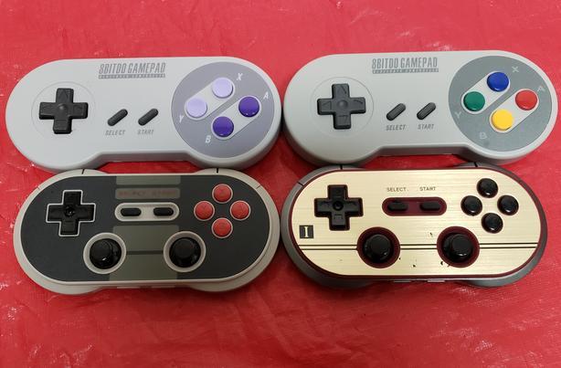 Nintendo Switch 8Bitdo Retro Controllers