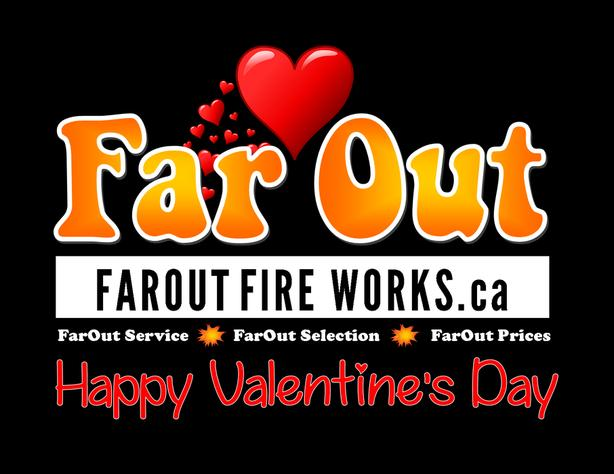 Valentine's Day Fireworks Kits