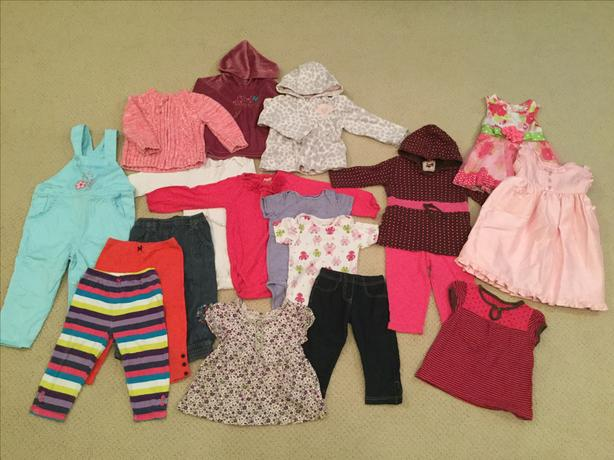 Toddler Girls Summer Clothing - 2 separate lots