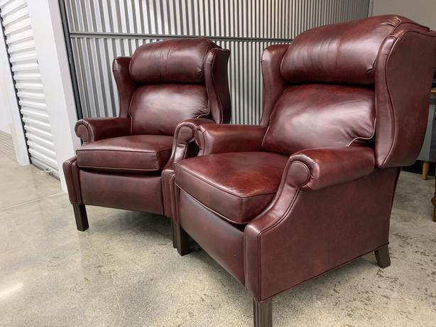 High-End Leather Recliners (**Compare new @ $6200**)