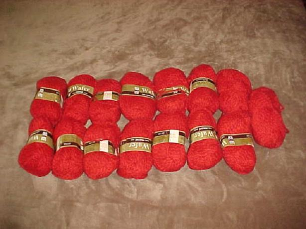 15 BALLS OF MARNEL WAFER WOOL