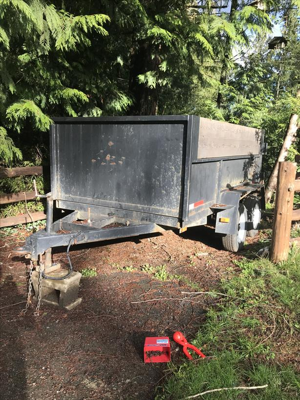 10x6  dump trailer
