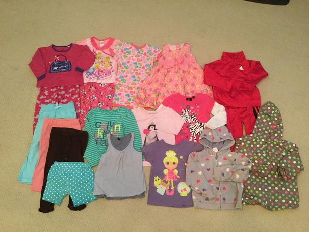 Girls Assorted Spring/Summer clothing - Size 18-24 Months