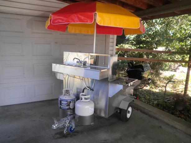 Hot Dog Food Cart Good Condition Best offer