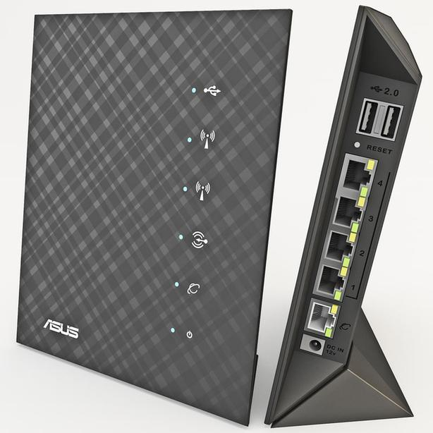 Asus RTN56Uv1 N600 Dual-Band Gigabit router flashed to Open-WRT