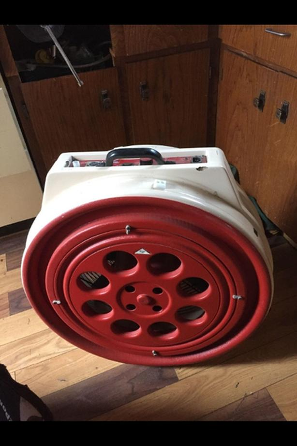 Blower Door and all accessories