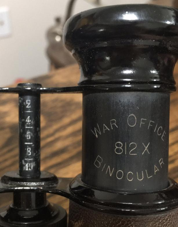 War Office binoculars