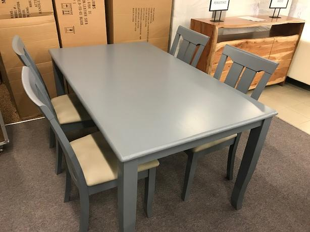 Hardwood Dining Set Delivery And Setup Included Price Reduced Outside Nanaimo Parksville Qualicum Beach Mobile