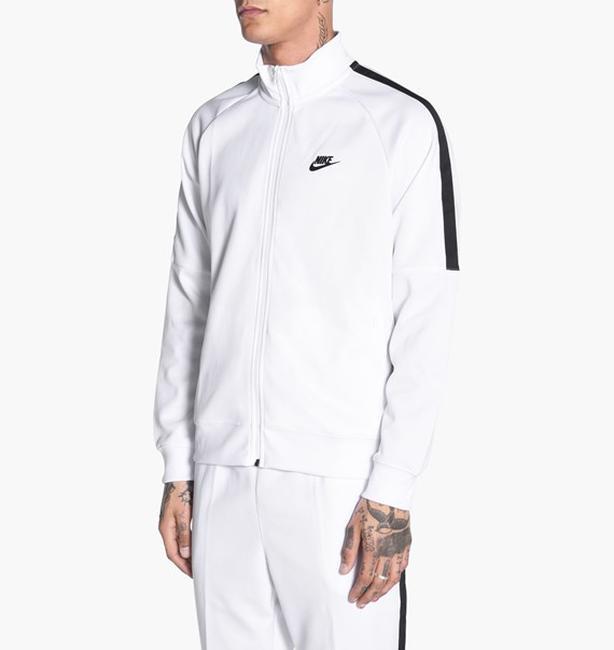 Nike Tribute Track Jacket White