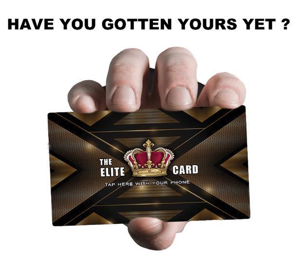 THE ELITE DIGITAL SMART CARD
