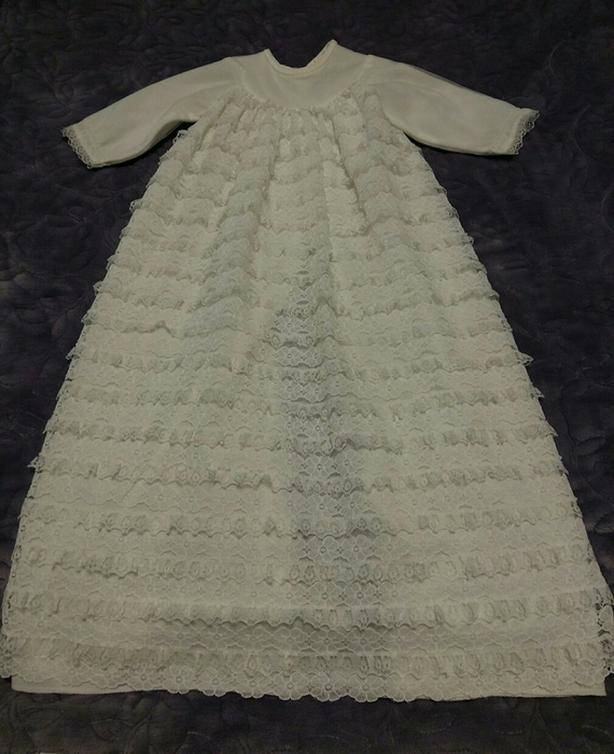 Vintage Mothercare UK Christening Gown