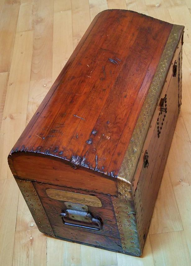 Unique 1800s Shipwrights Tool Chest
