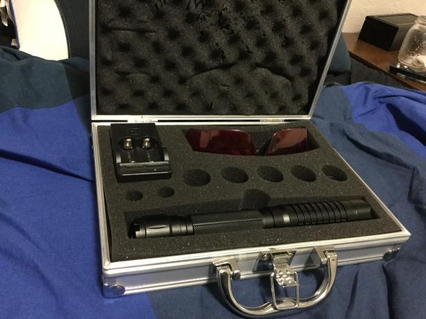 Military grade laser pointer