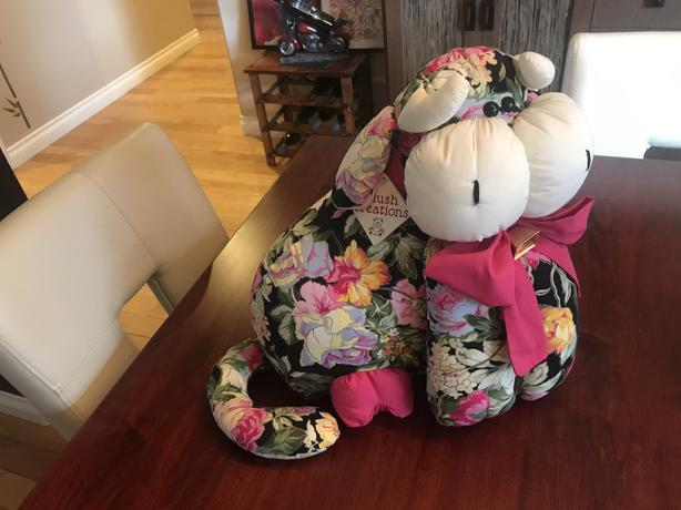 Rare Stuffed Cow by Plush Creations