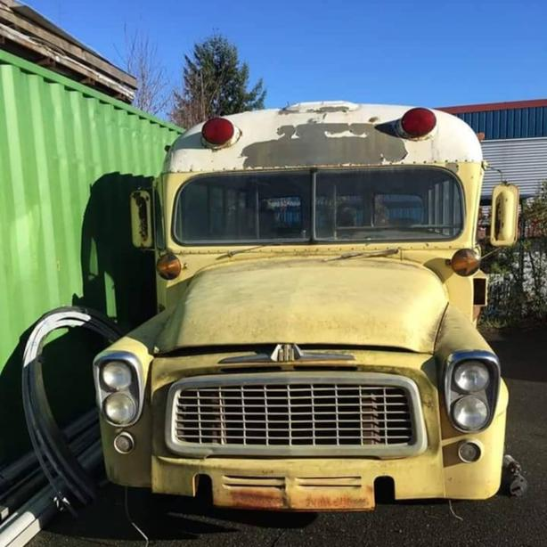 1960 International Shortbus project