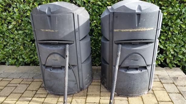 2 Earthmaker Composters $20 each