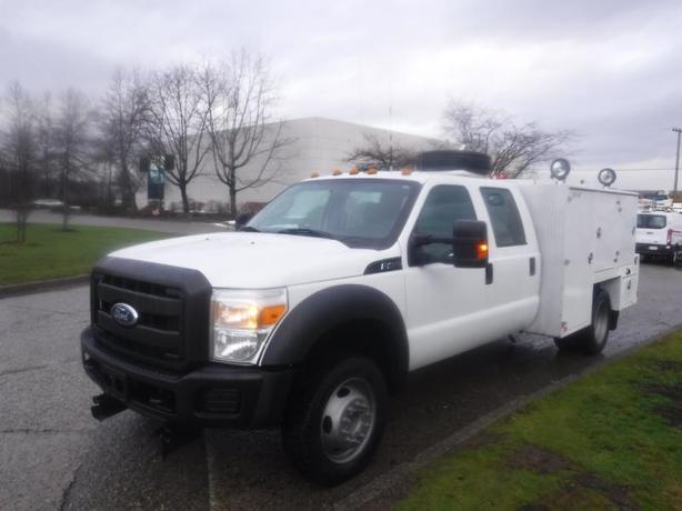 2012 Ford F-450 SD Service Truck Crew Cab Dually 4WD Crane