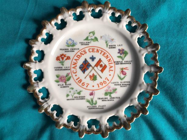 Ceramic Collector Plate