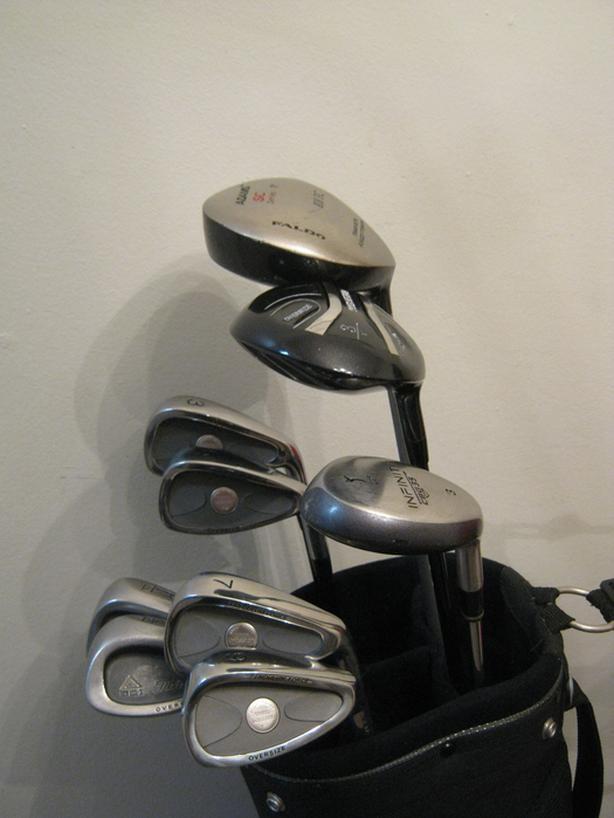 Men's 10-club par-3 golf set