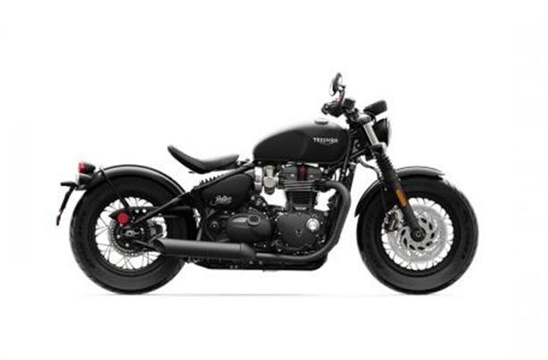 2020 Triumph Bonneville Bobber Black (Matte)