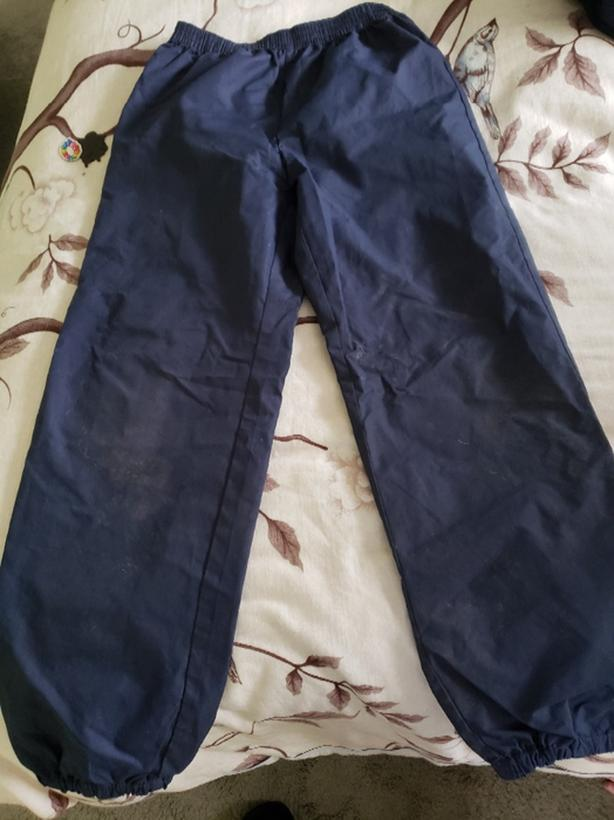 size 10-12 kids rain pants