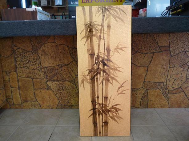Hand painted bamboo shoots by CHOI