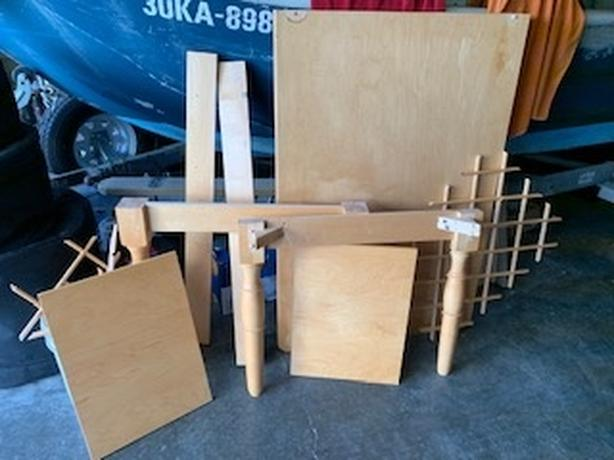 FREE: Maple  kitchen counter pieces