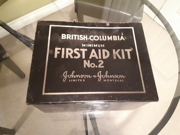 50's first aid kit