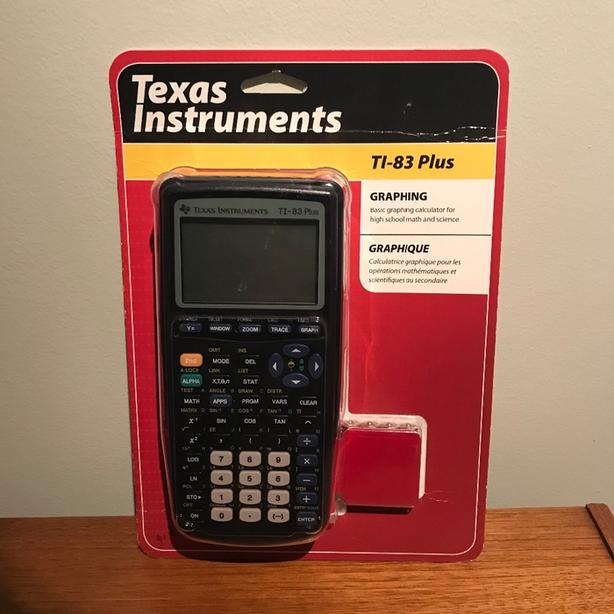 Texas Instruments TI-83 Plus Graphing Calculator unopened original packaging NEW