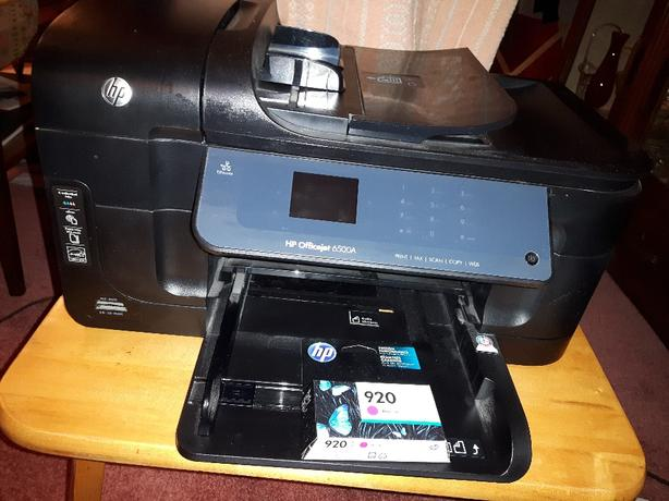 FREE: Printer HP Officejet 6500A  or ink.