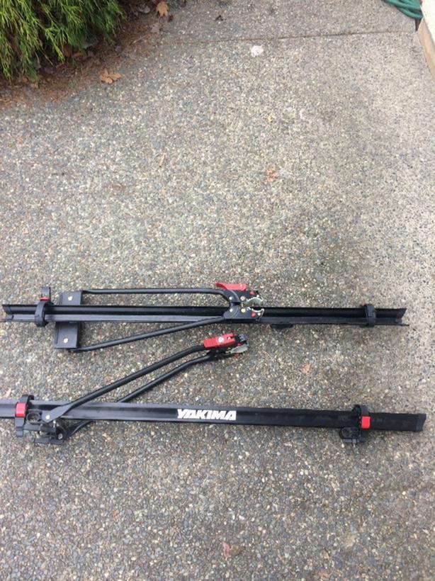 yakima up right bike rack