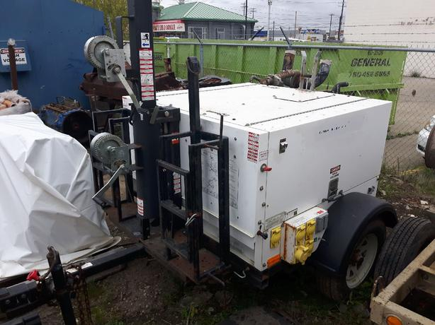 LIGHT TOWERS GENERATORS PUMPS FOR SALE OR RENT