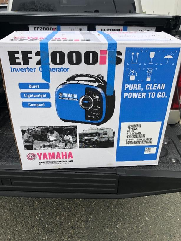 Brand New Yamaha EF2000is