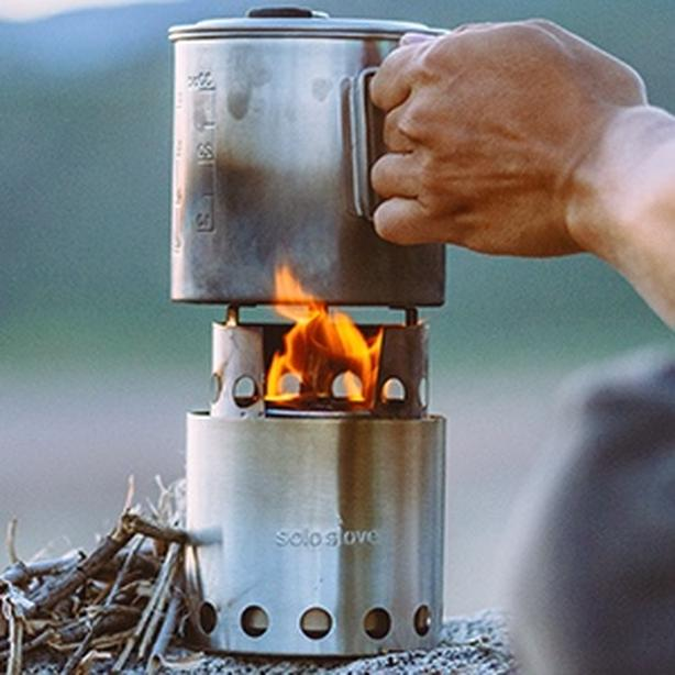 Backpacking Solo Stove Lite & Solo Pot 900